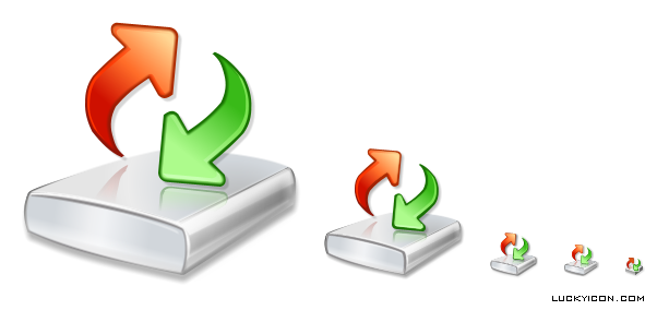 Product icon in Vista style for Active@ Undelete by LSoft Technologies