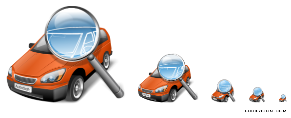 Product icon in Vista style for AutoCatalogue by AutoSoft