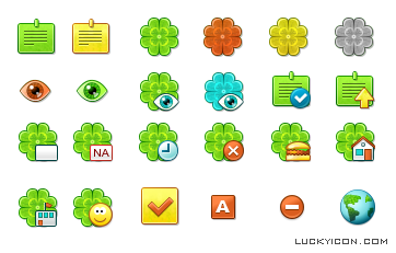 Icons design for Bimoid