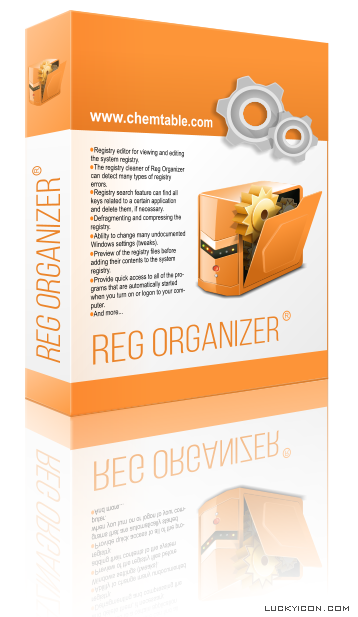 Box design for Reg Organizer