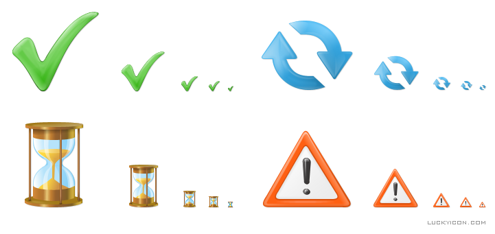 Icons in Vista style for DepositFiles