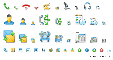 New icons for Drag-Net by T & T International