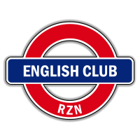 Logo design for the group VKontakte English club rzn
