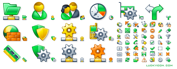 Set of icons for UserGate 4.1 by Entensys