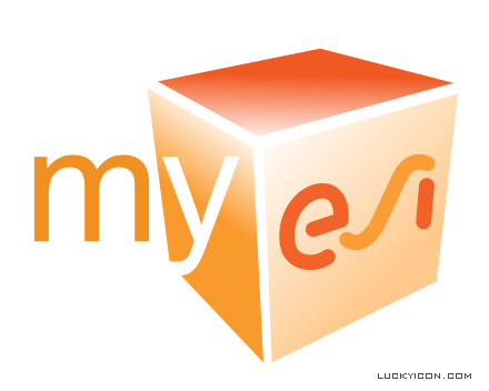 Logotype for myESI Customer Portal
