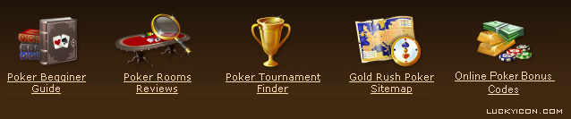 Set of icons for www.grpoker.com