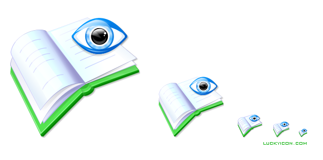 Product icon in Vista style for GoldenSection Reader by The Golden Section Labs