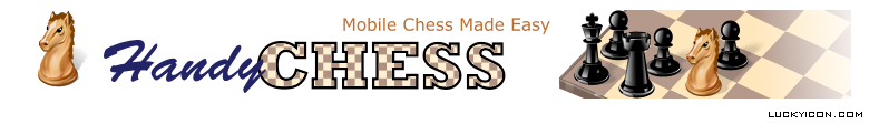 Header for the website HandyChess