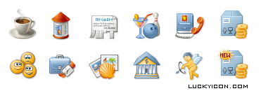 Set of icons for www.kgs.ru