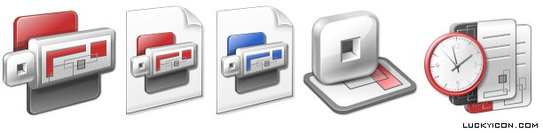 Set of icons for Mindsystems