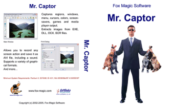DVD Cover for Mr.Captor