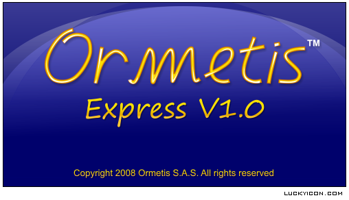 Splash screen for Ormetis by Ormetis S.A.S.