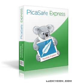 3D Box for PicaSafe Express Photo Album by LuckyIcon Art