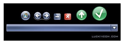 Set of buttons for PicaSafe by LuckyIcon Art