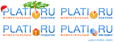 Logo for the e-commerce website Plati.ru