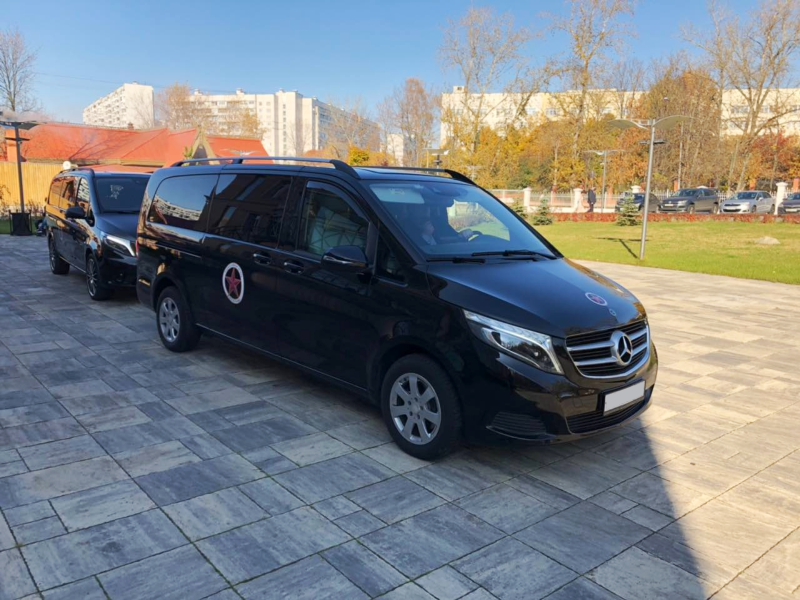 Дизайн наклеек для Mercedes-Benz Viano