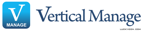 Logotype for the website verticalmanage.com