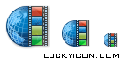 Product icon in XP style for VideoMonitor by T & T International company