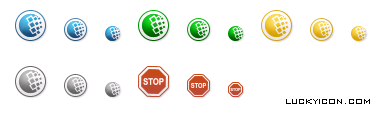 Set of icons for WebMoney Advisor by WebMoney Transfer