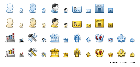 Icons of certificates for WebMoney Keeper