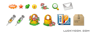 Set of icons for www.welldetox.com